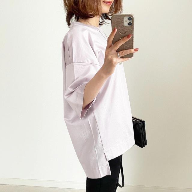 『ユニクロ+J』再販で買えた!幻のTシャツ【tomomiyuコーデ】_1_6