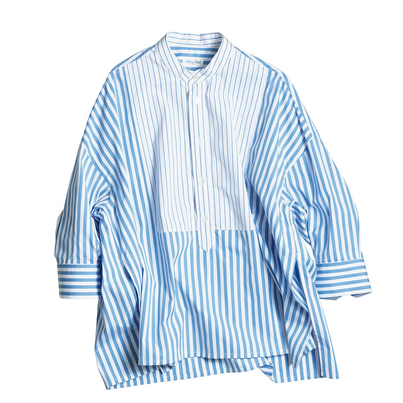 きりっと主張するストライプが、シャツを洗練スタイルに格上げ 五選_1_1-4