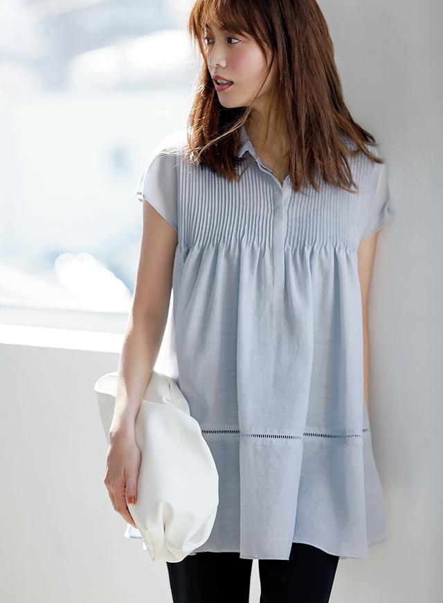 ジャスグリッティーで初夏コーデに華やぎを 今こそ、大人の「着映え服」を手に入れよう_1_4