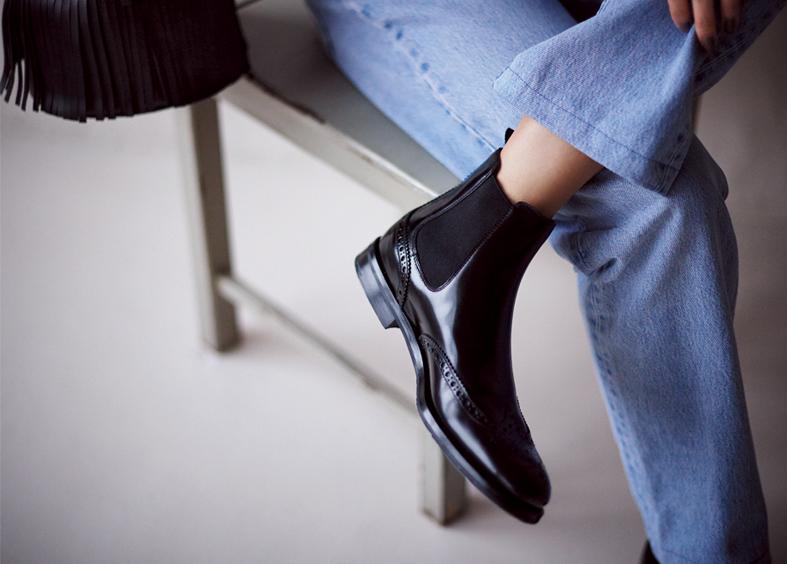 「男前ショート」ブーツは、上質素材と美シルエットで大人の品格をアピール_1_3