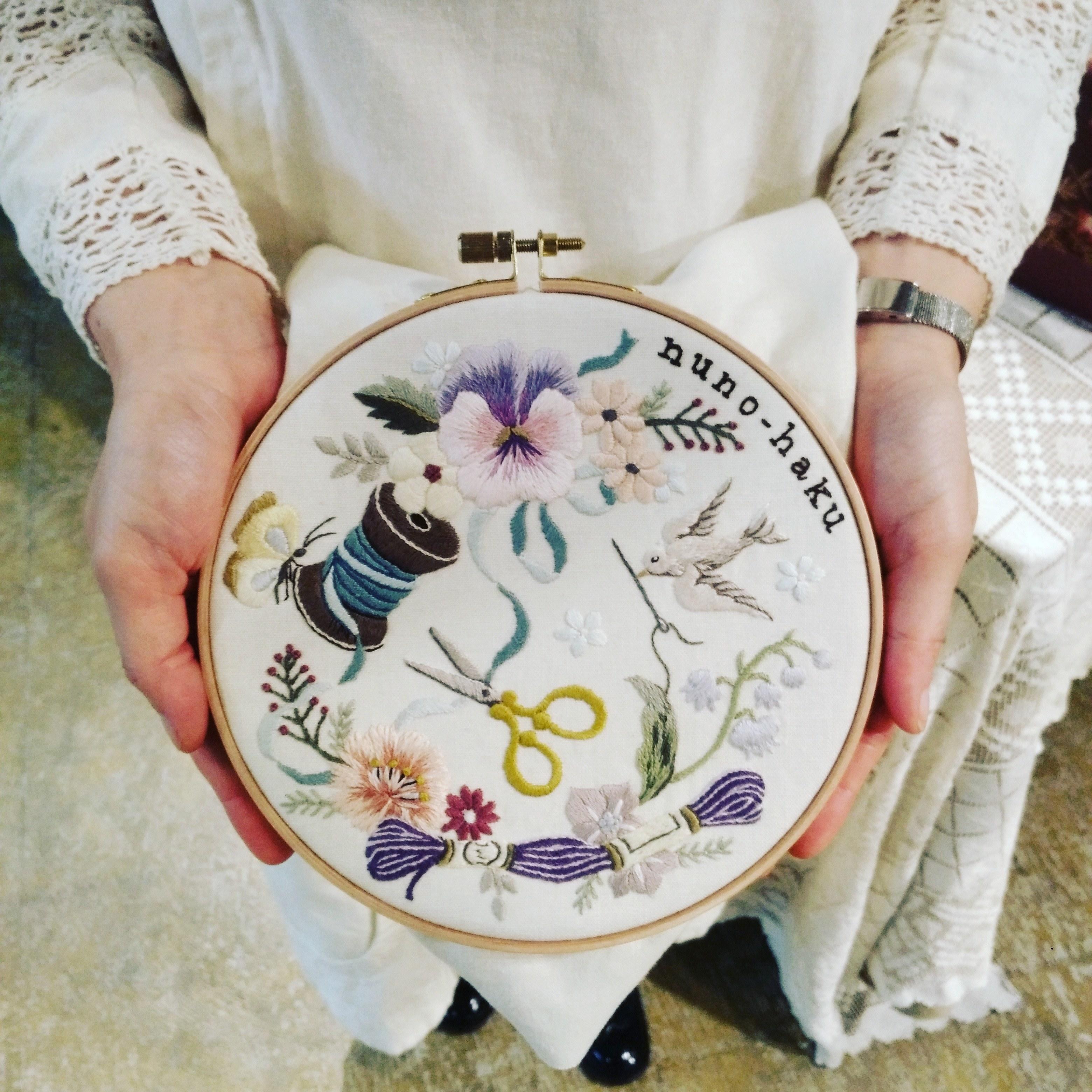 めくるめく刺繍の世界 in 布博_1_1