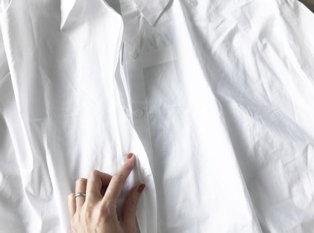 今季の白シャツ、私はこれ。【40代 私のクローゼット】_1_5