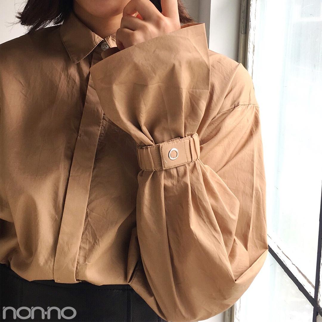 渡邉理佐はこの秋、シャツ&スカートでフェミニンコーデに挑戦中♪_1_2-2