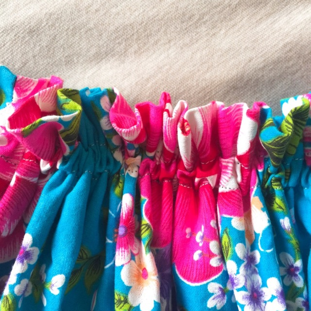 簡単!可愛い!『客家花布』のフレアスカートを作ってみた_1_4