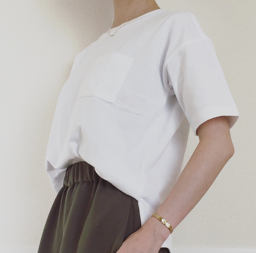 Tシャツ 無印良品 / ワイドパンツ M premier