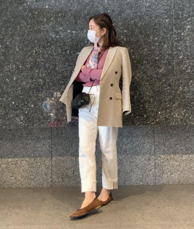 話題のミラノマダムをイメージ・ジャケット+デニムで【私のパン巡り】_1_1