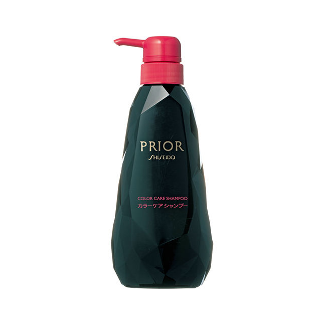 カラー剤&メラニン両方の色素流出を防止。プリオール カラーケアシャンプー 400㎖(オープン価格)/資生堂