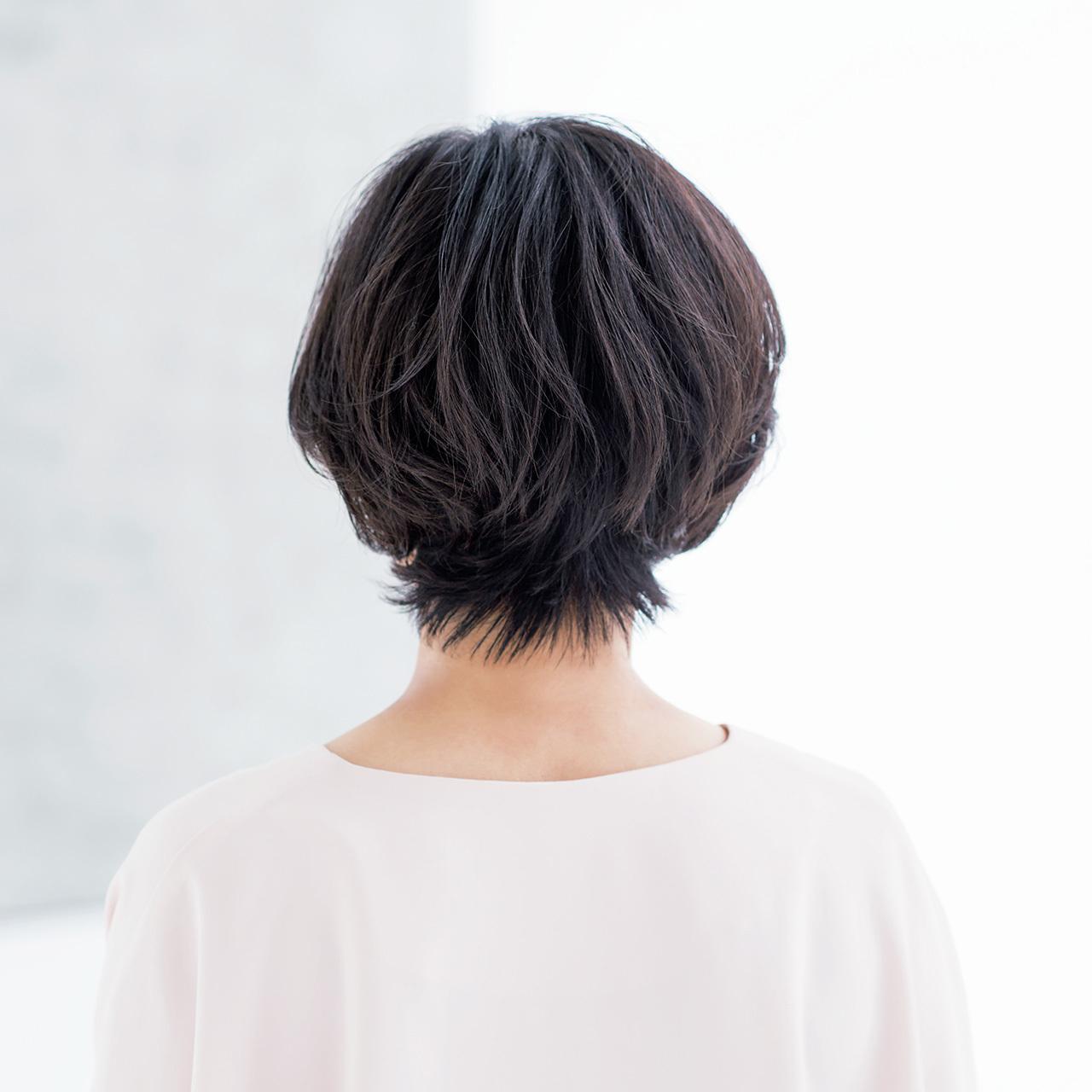 華やかに、女性らしく進化中! 大人の春ショートヘア 五選_5_1-3