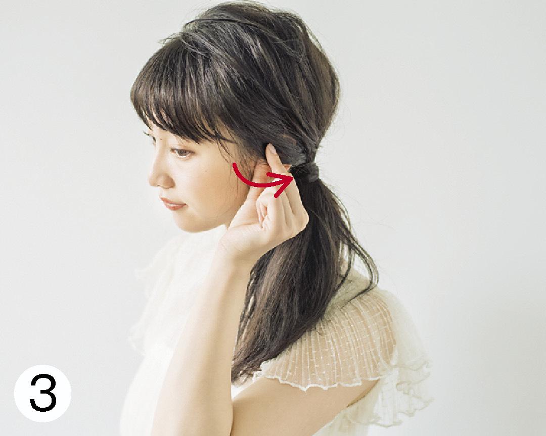 ノンノモデル山田愛奈が美しすぎる! ロングの#彼女感なサイドまとめ髪_1_3-3