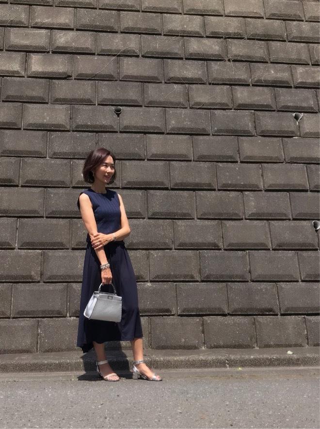 UNIQLOのカットソーロングスカート☆_1_4