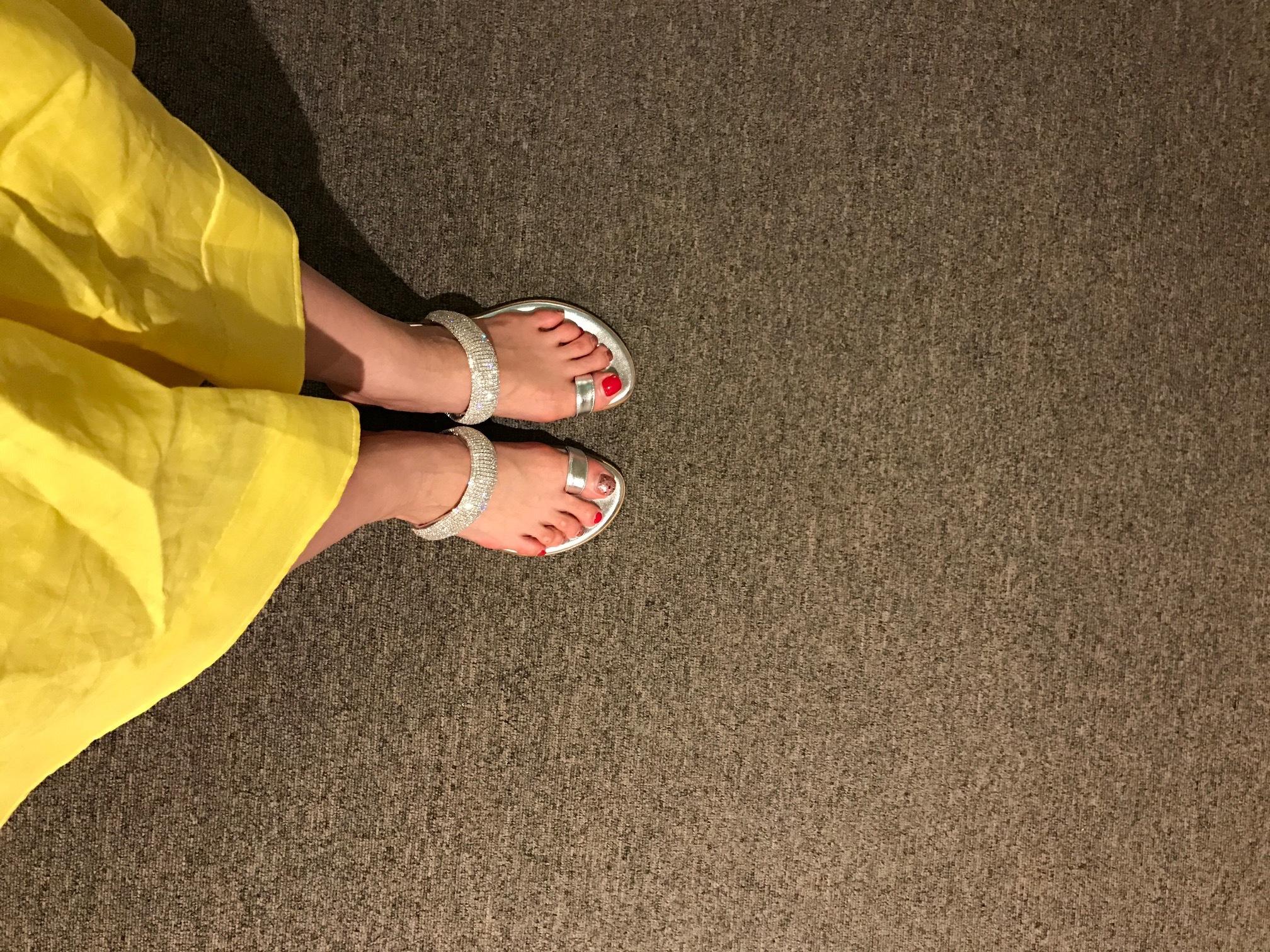 アラフォーの若々しさの秘訣は、フラット靴!!_1_3