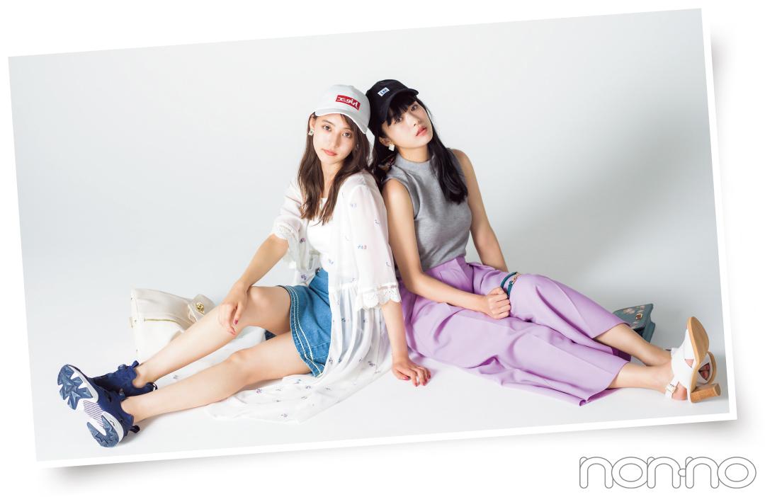 コードブルーで大ブレイク! 新木優子&馬場ふみかのキャップコーデが可愛すぎ♡_1_2