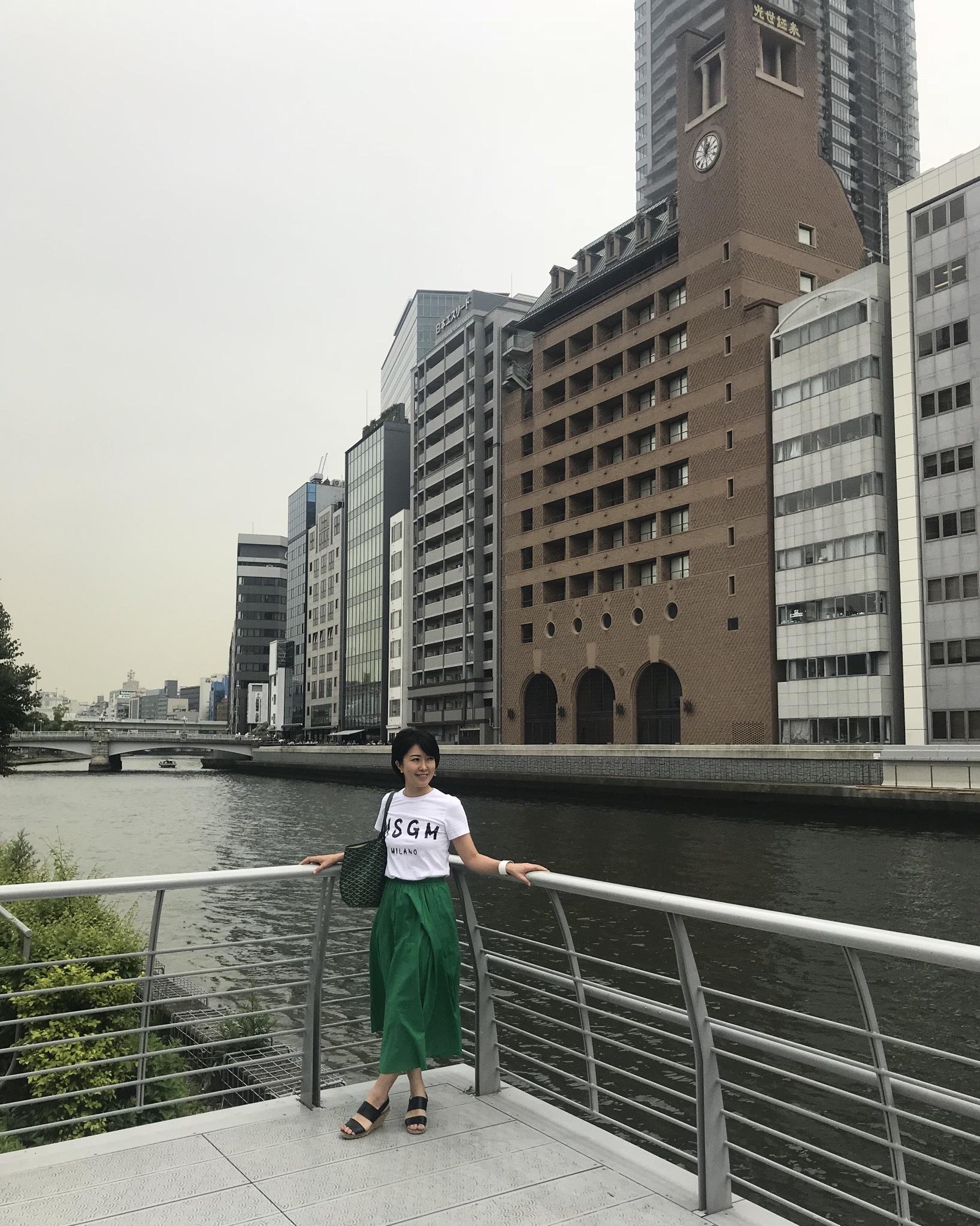ゆき散歩。新緑の季節は大阪 北浜・中之島のカフェで心地よく_1_5-2
