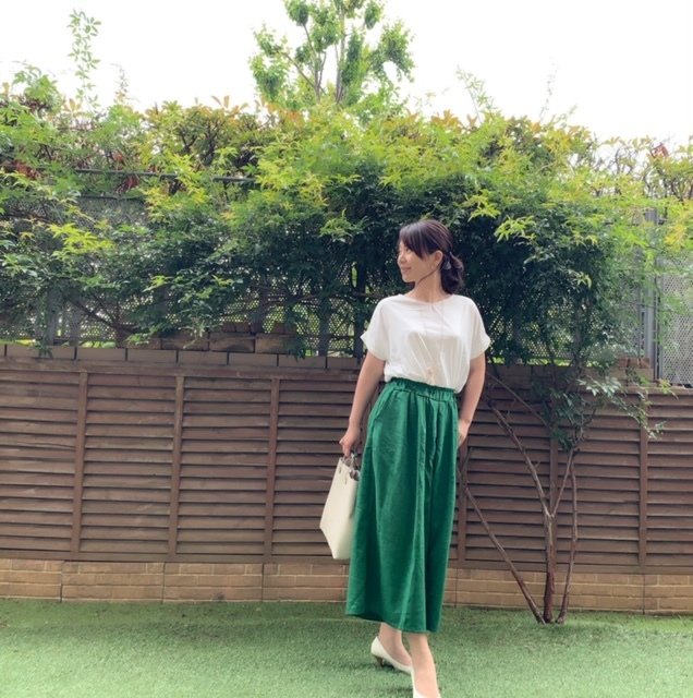 今年トレンドカラーのグリーンが着たい!_1_1