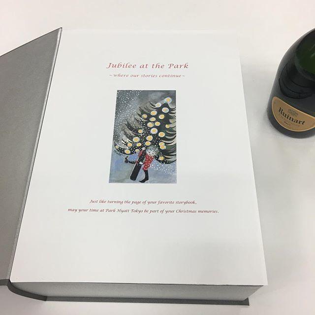 """パークハイアット東京は来年開業25周年!""""本""""がテーマの素敵なboxをいただきました♡_1_4"""