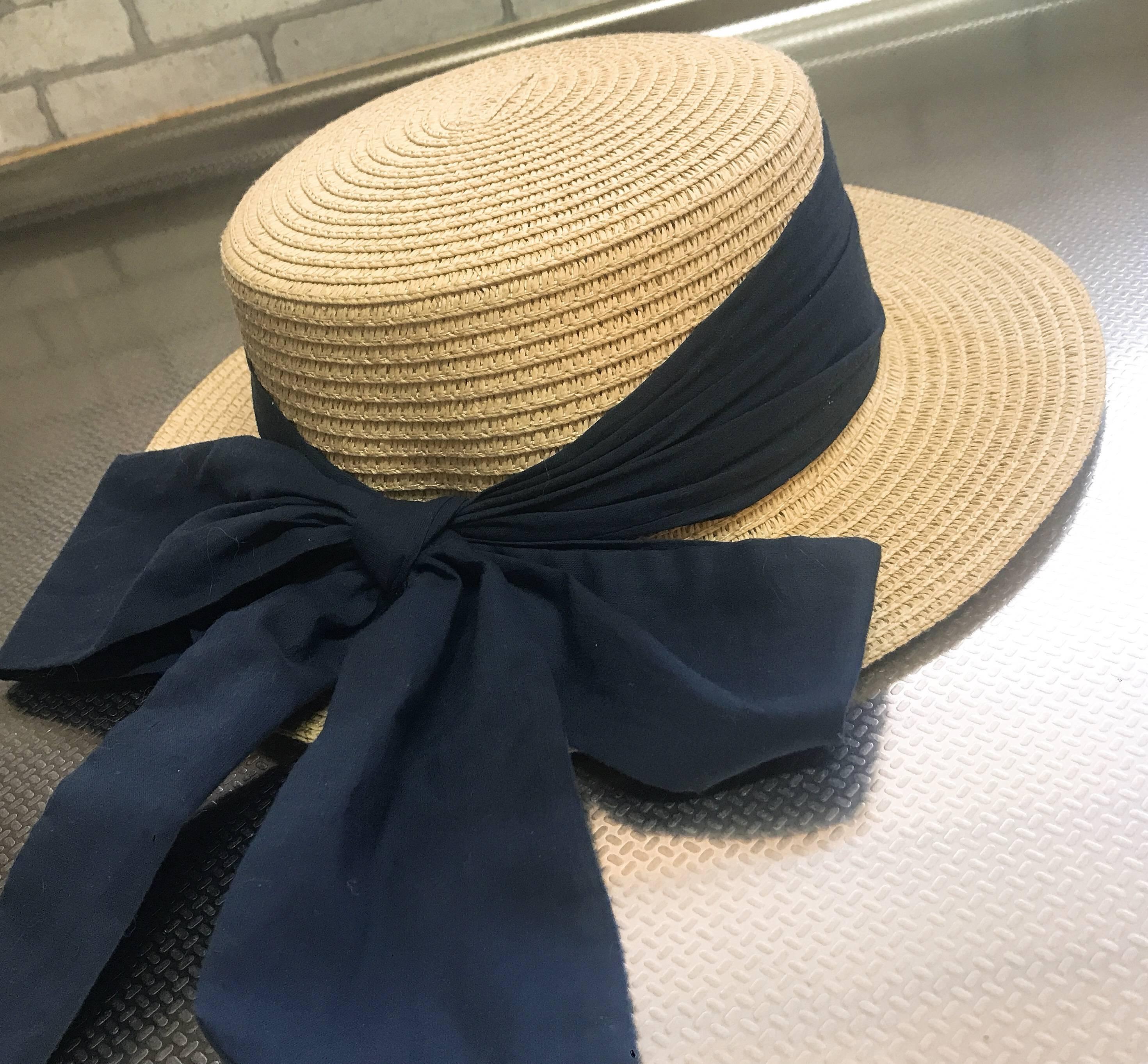 春夏のトレンドアイテム〈カンカン帽〉♪*゚_1_1