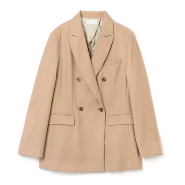 着心地と女性らしさがかなうジャケット