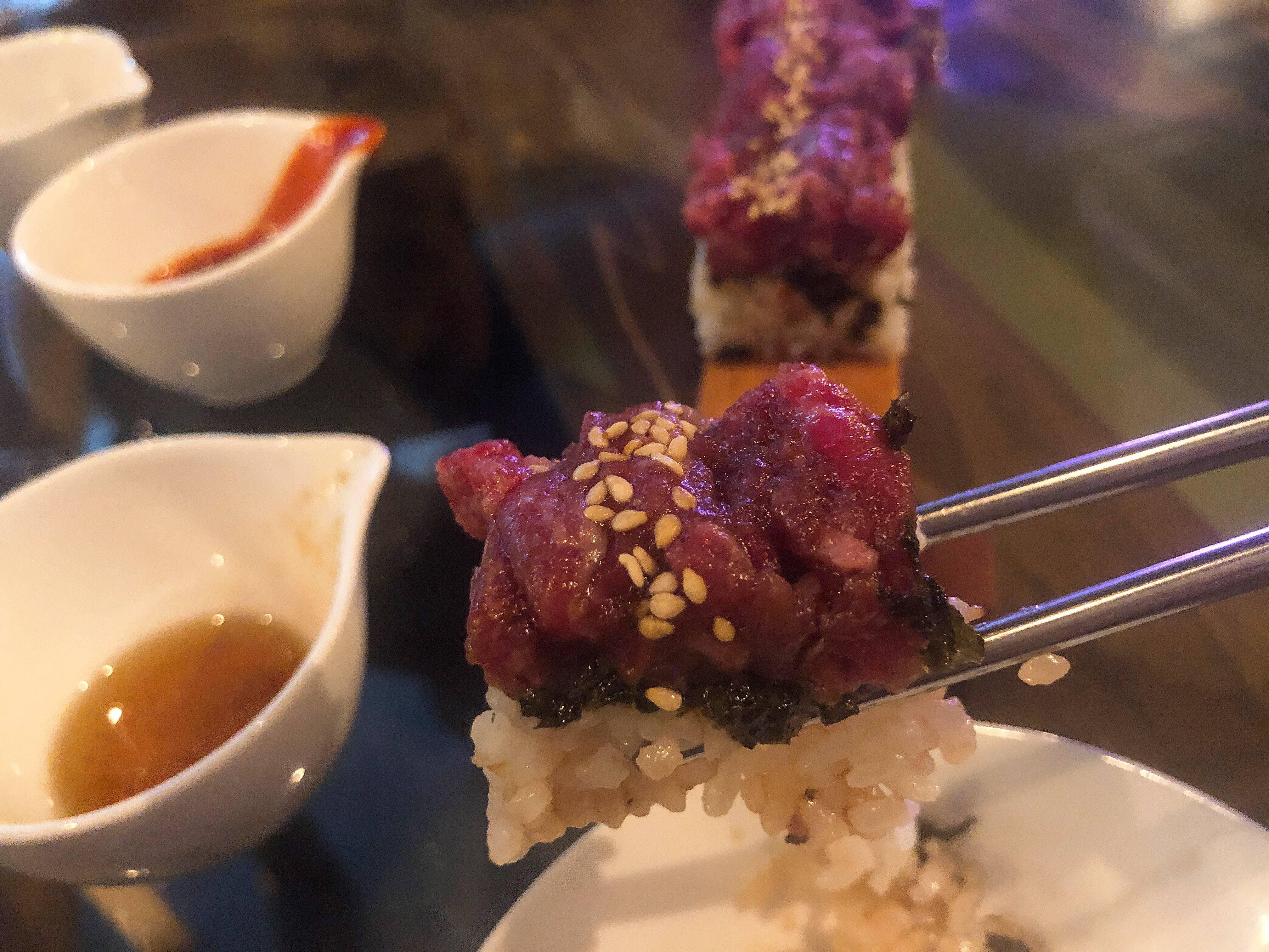 Vol.65♡ 50cm?!巨大ユッケ寿司が食べられるお店【PALLET46】_1_3-3
