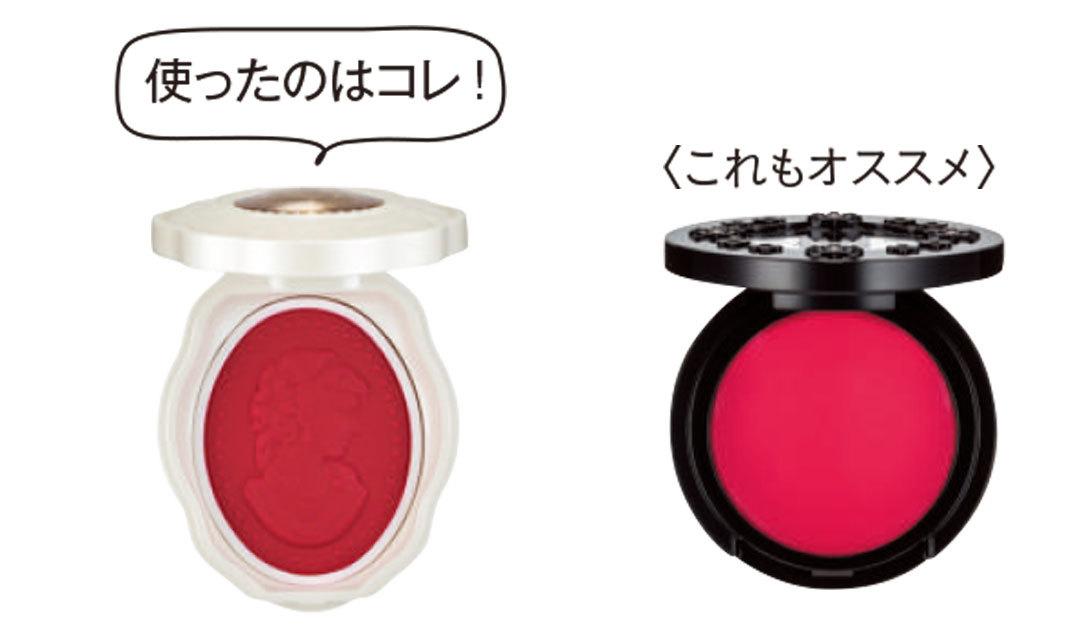 赤、ピンク、オレンジ系…チークの色で、印象が変わるって知ってた?_1_2