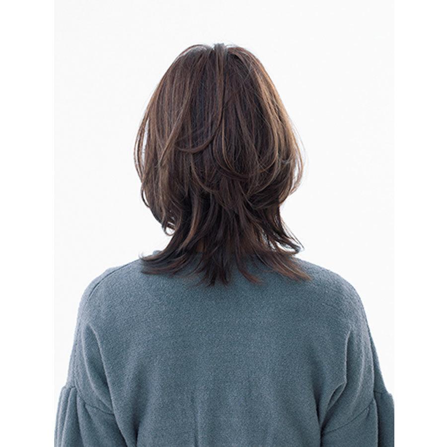 後ろから見た 人気ヘアスタイル7位の髪型