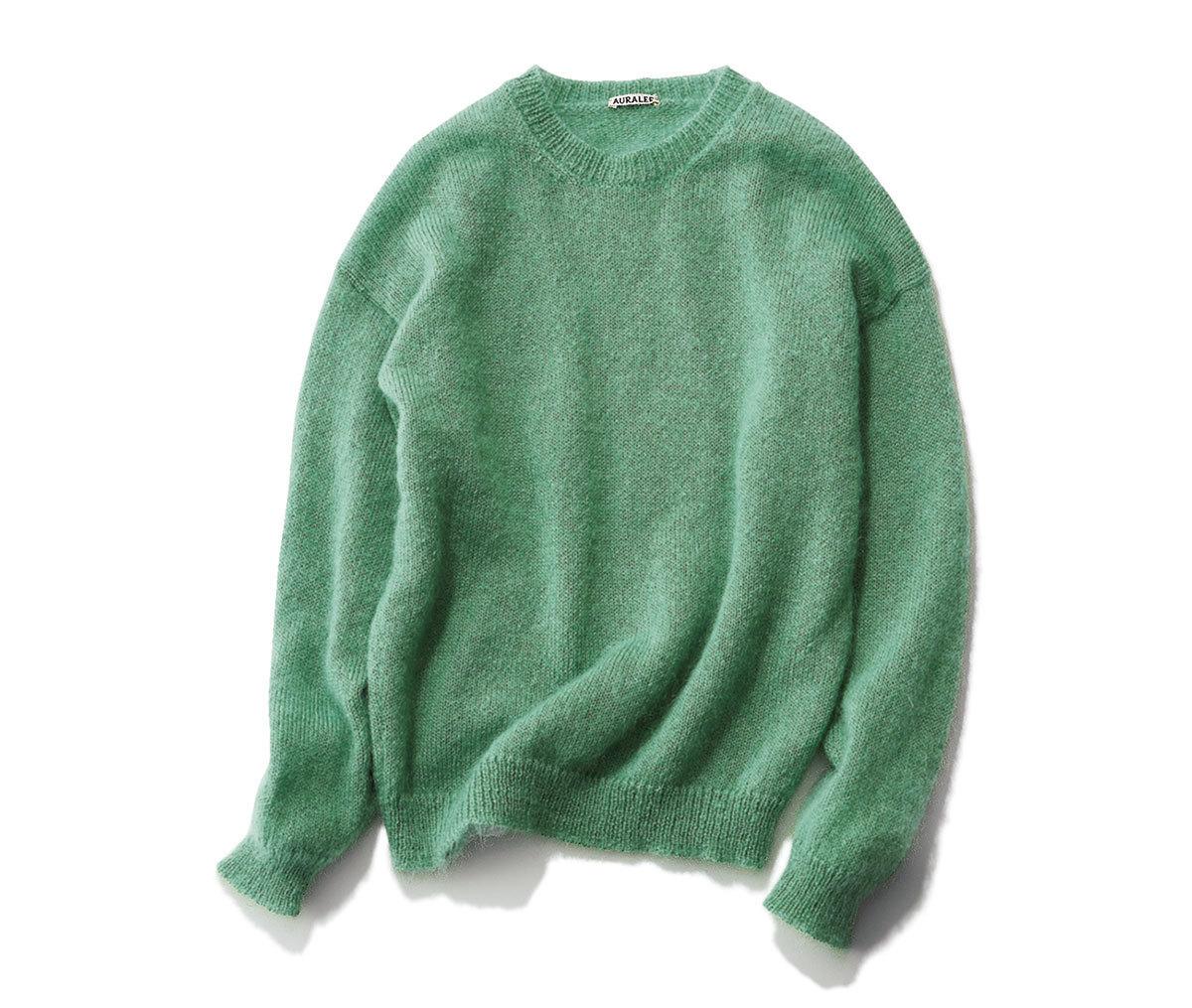 真冬コーデの差し色はコレ!グリーンに注目|40代 2020冬ファッション_1_4