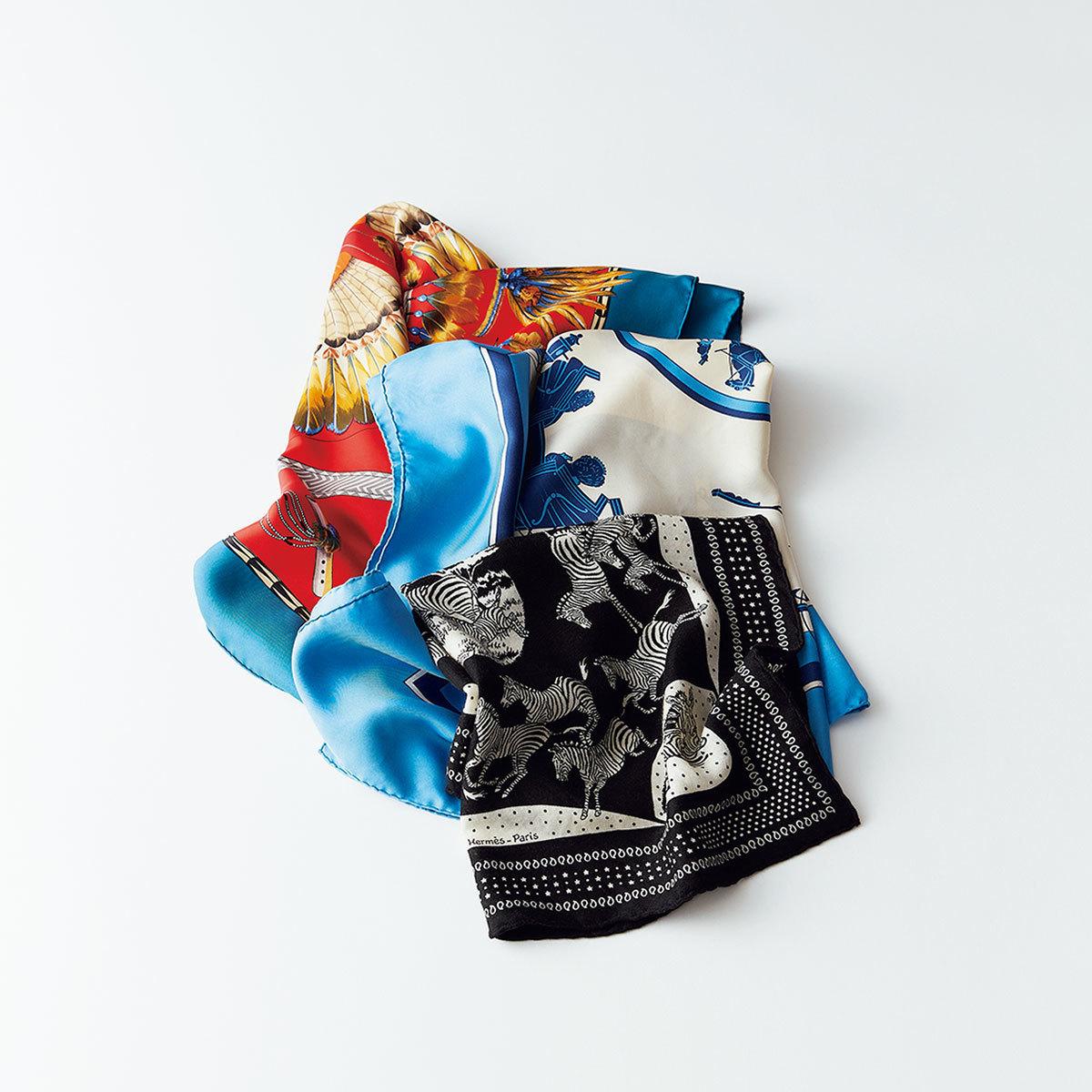 05)エルメスのスカーフ