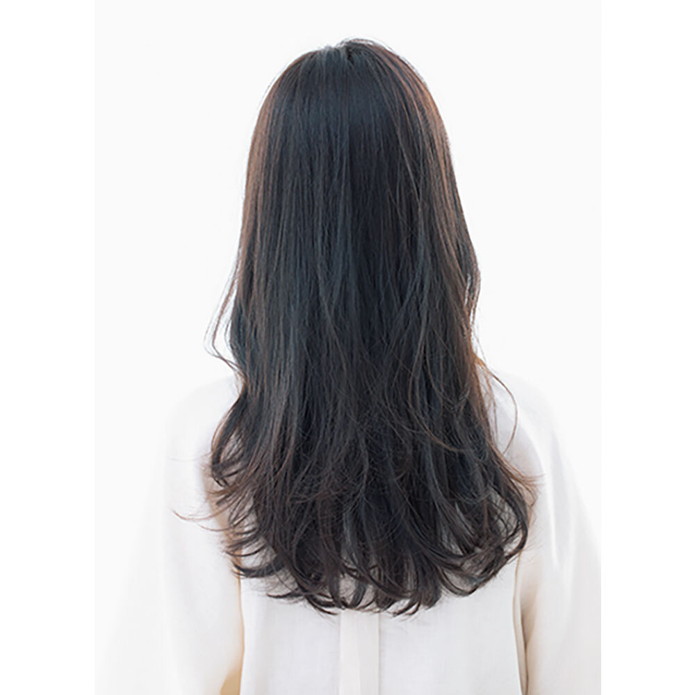 後ろから見た人気ロングヘアスタイル1位の髪型