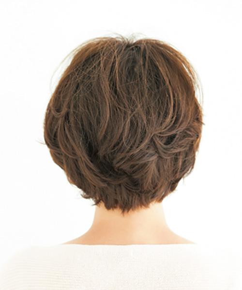 前、横、後ろ、全方位美人なショート【40代のショートヘア】_1_1-3