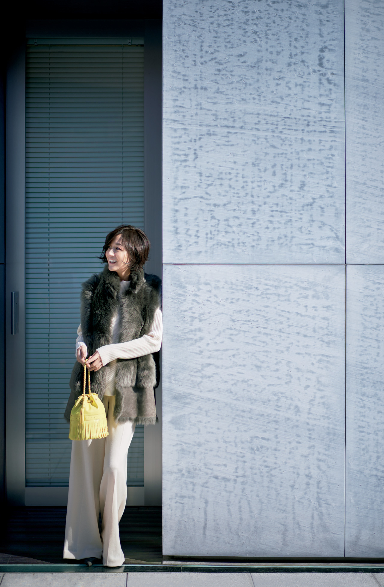 富岡佳子が見せる「冬の普段着」、おしゃれを磨く着こなしのヒント 五選_1_1