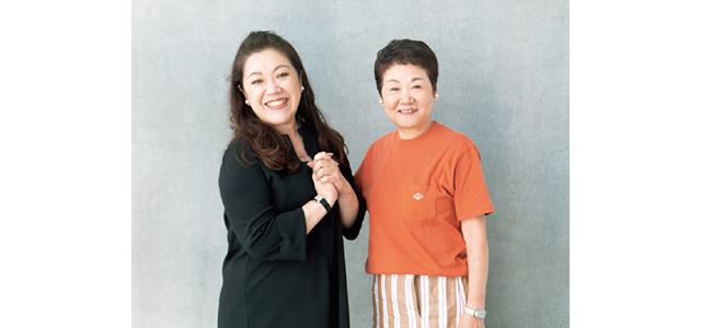 東郷かおる子さんと野毛まゆりさん