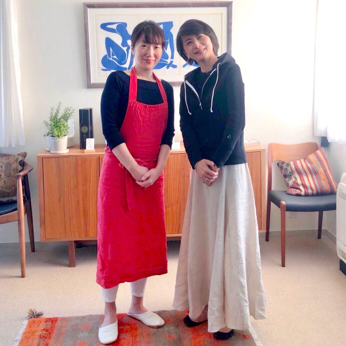 エクラでもおなじみ 島田まきさんのお料理教室へ_1_1