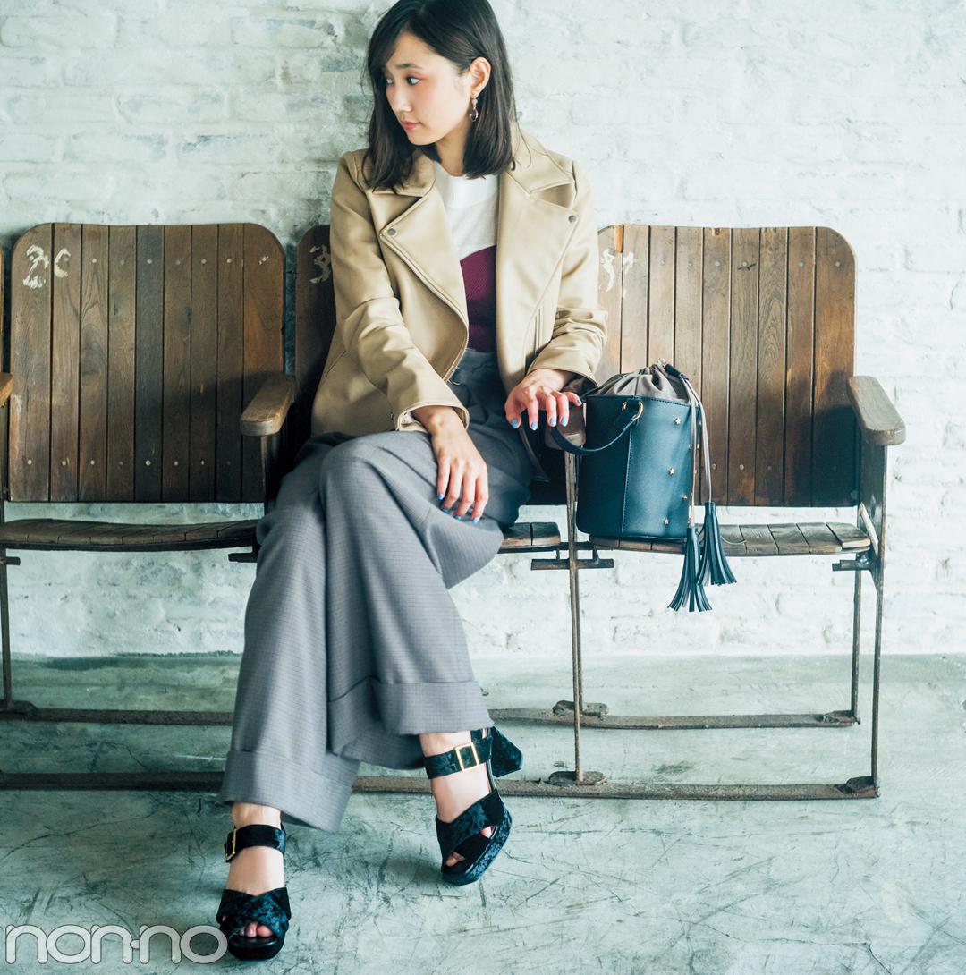 西野七瀬&鈴木友菜が着る! UNIQLO・GU・リリーブラウンの「女っぽライダース」_1_1-1