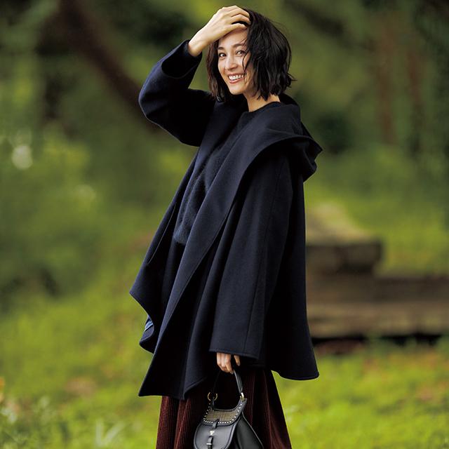 アラフィー女性のこだわりが満載!着こなし豊富な「優秀コート」 五選_1_1-4