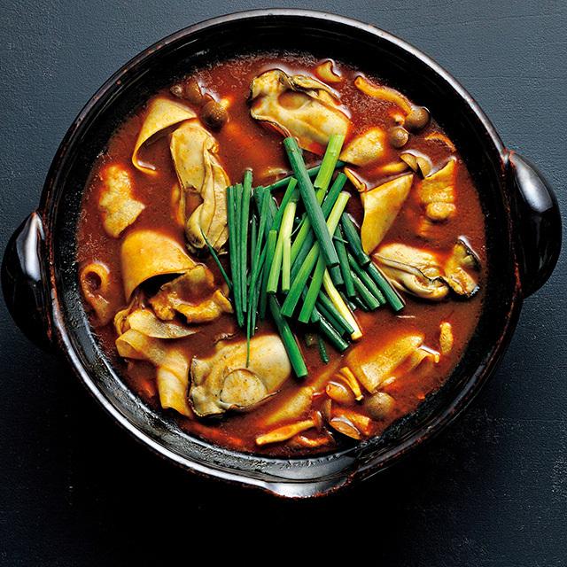 大根と牡蠣のカレー鍋