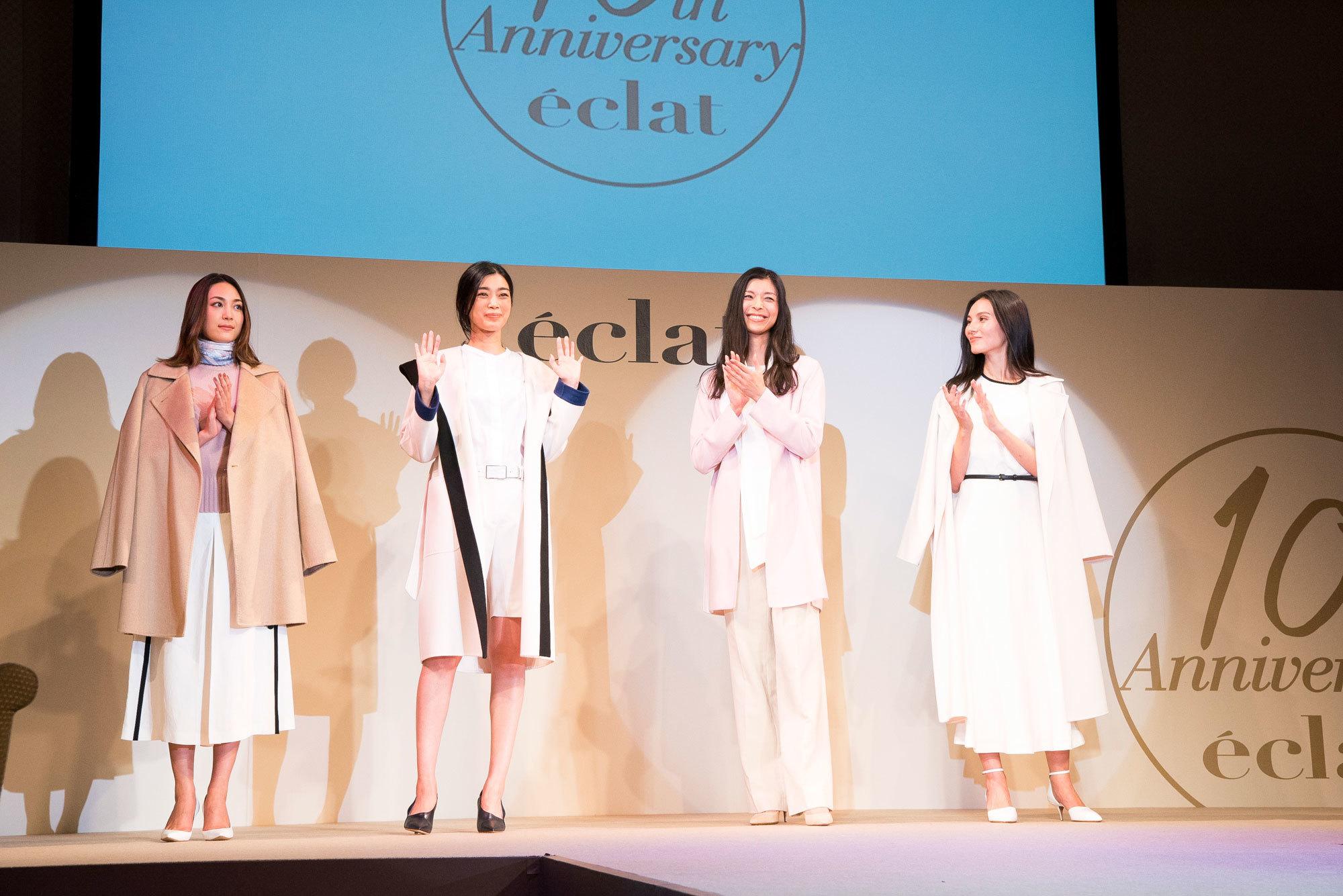 エクラモデルによる、あの人気ブランドのショーを目の前で! ファッションフロアショー_1_1-6