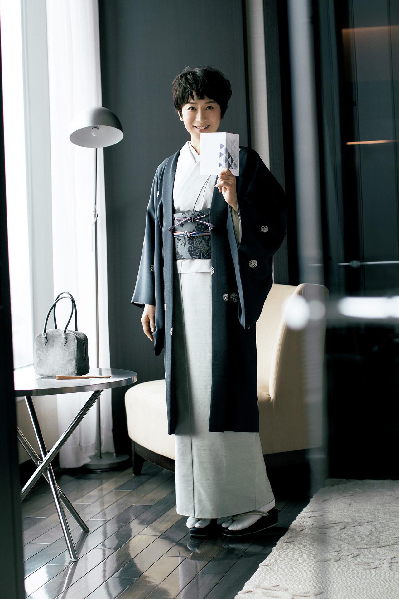 黒田知永子、取り合わせの楽しさのとりこに。「2年目」のきもの遊び 五選_1_1-1