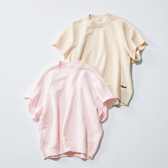 BLAMINK(ブラミンク)のきれい色の半袖スウェット