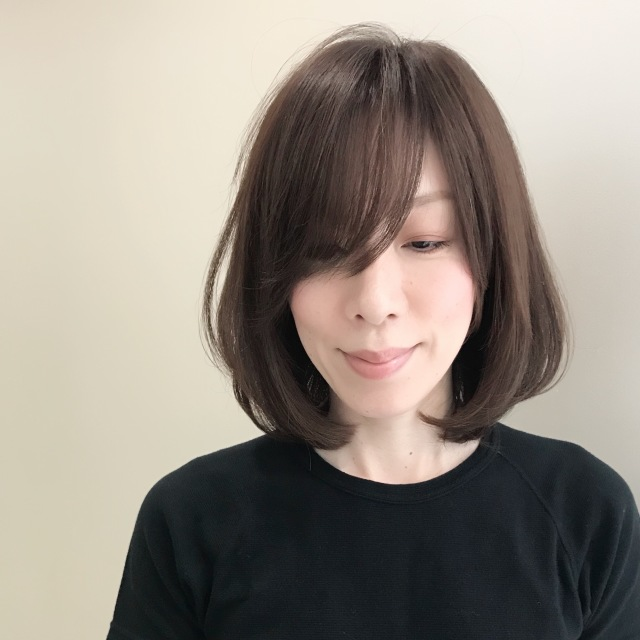 髪型だけでも華やかに!春っぽく!重装備な季節のボブアレンジ_1_2-1