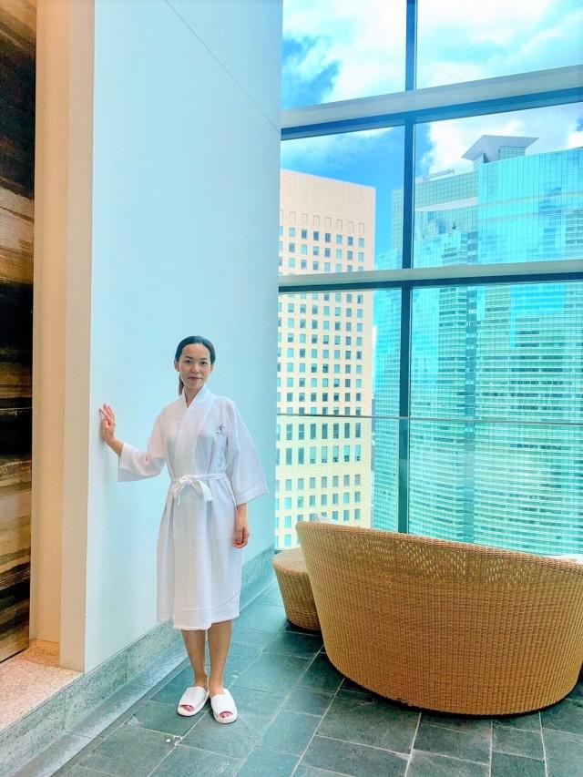 CONRAD東京 水月SPA&Fitness♡太陽光が差し込む、解放感に溢れる空間で♪_1_10