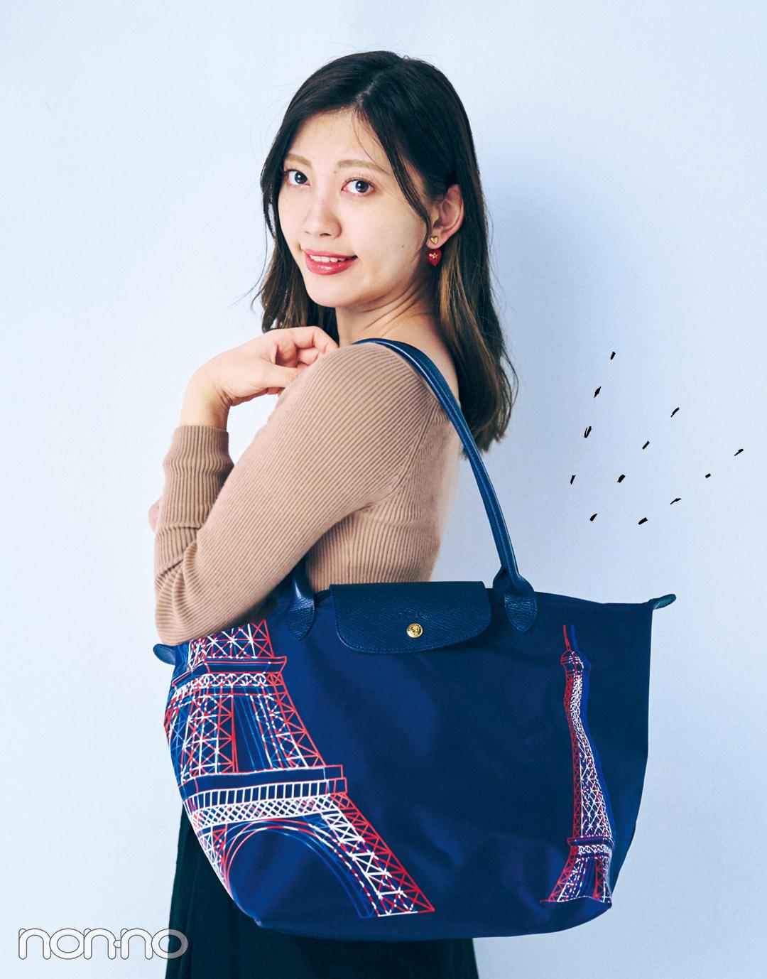 【新しい日常のバッグの中身大調査】愛用はロンシャン♡ 身軽さ重視のIT社員の場合♡_1_3