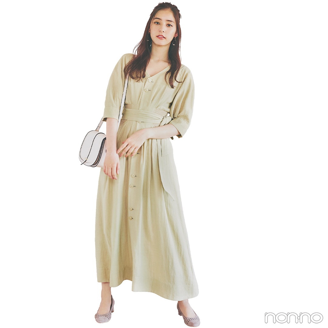 透け感シャツ&グラデスカートでリラックススタイルをアプデ【毎日コーデ】_1_2-1