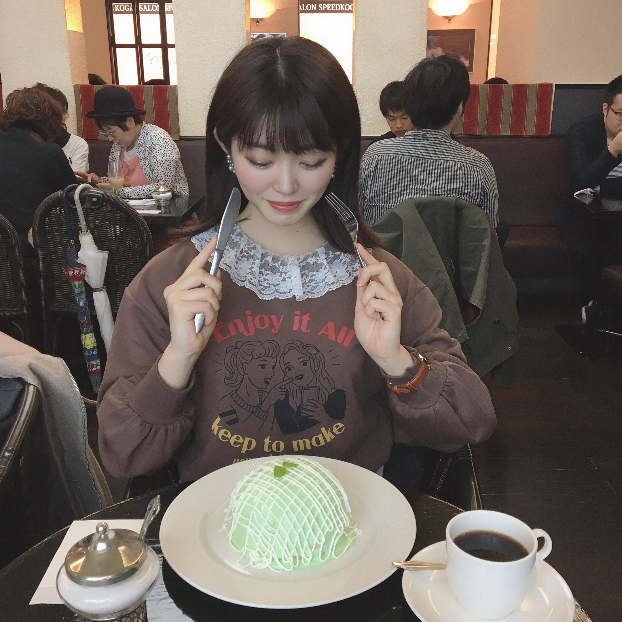 【インスタ映え❤︎】銀座のメロンパンケーキ♡_1_5