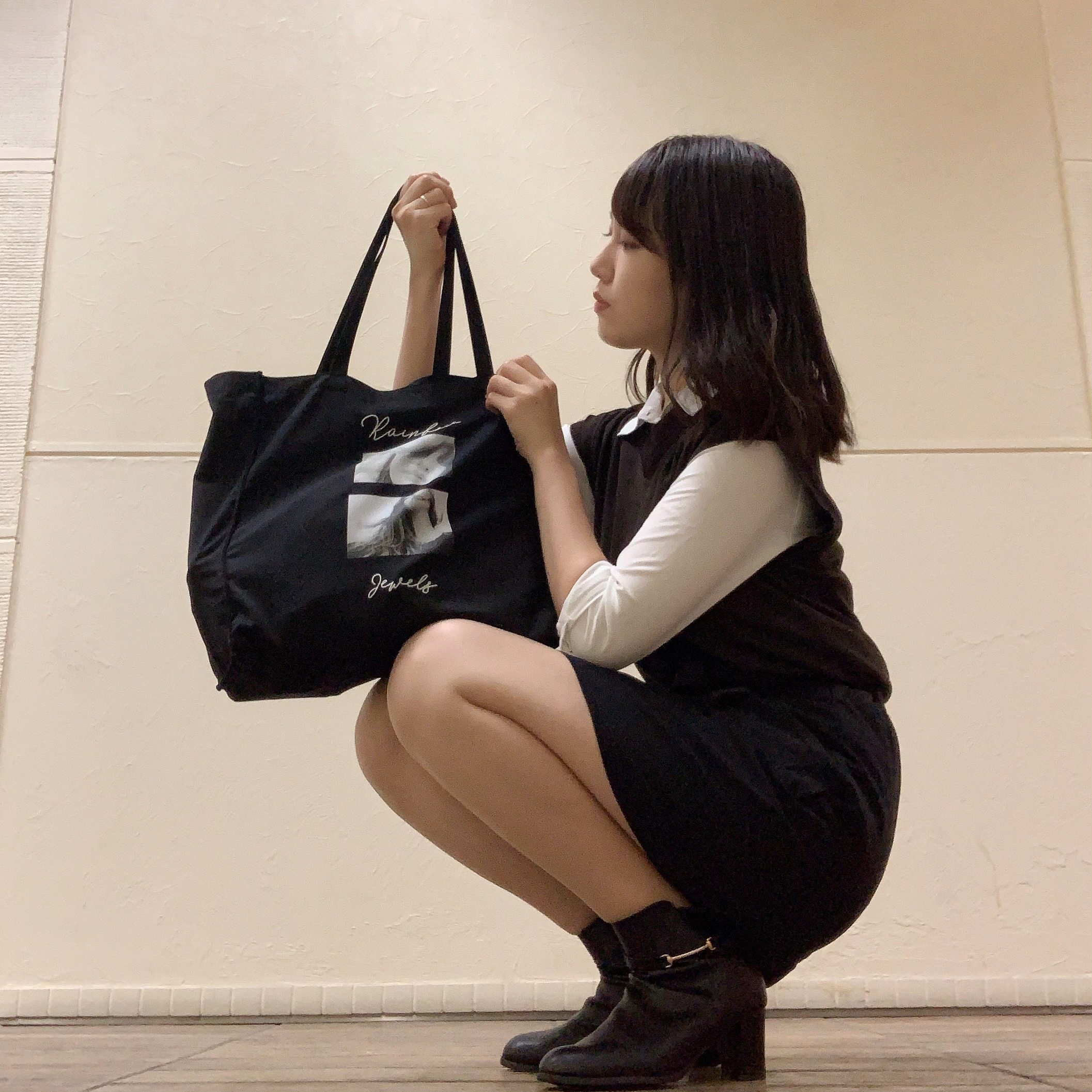 【学校コーデ】GUで買った服を着てみた!!_1_4