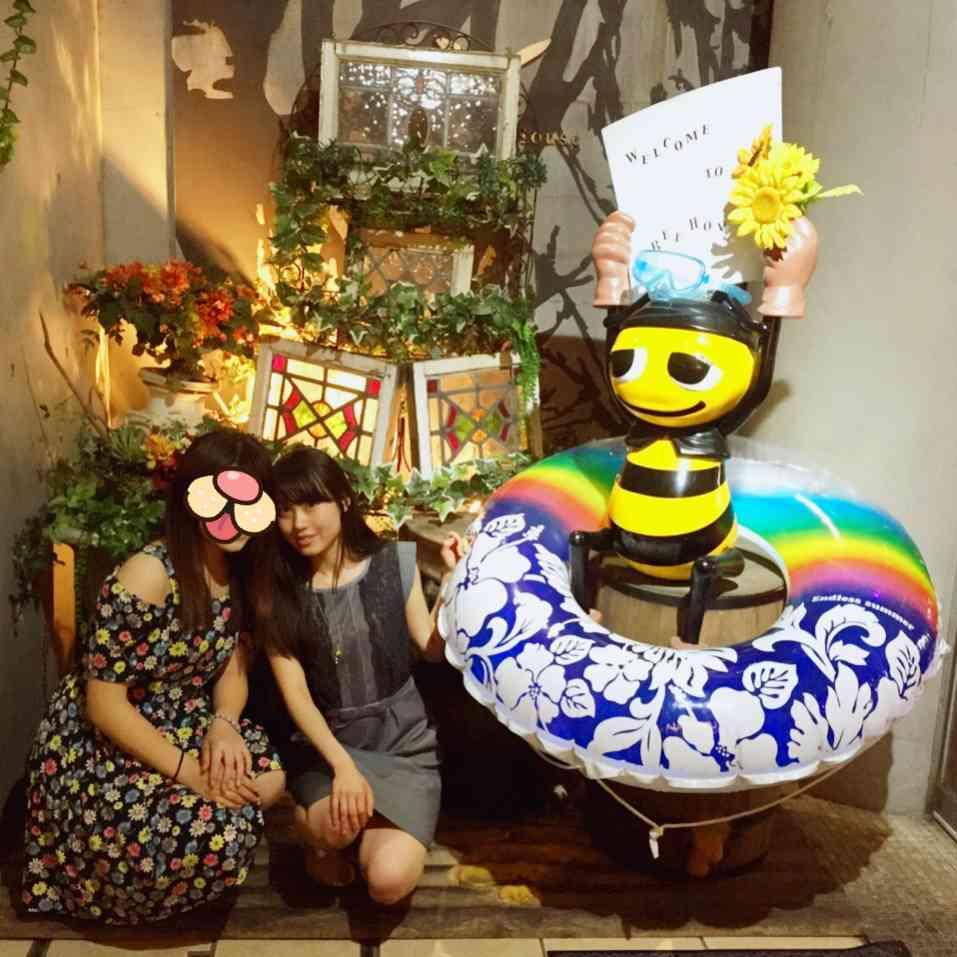 蜂蜜をたっぷりかけてどうぞ♡渋谷BEE HOUSE_1_3
