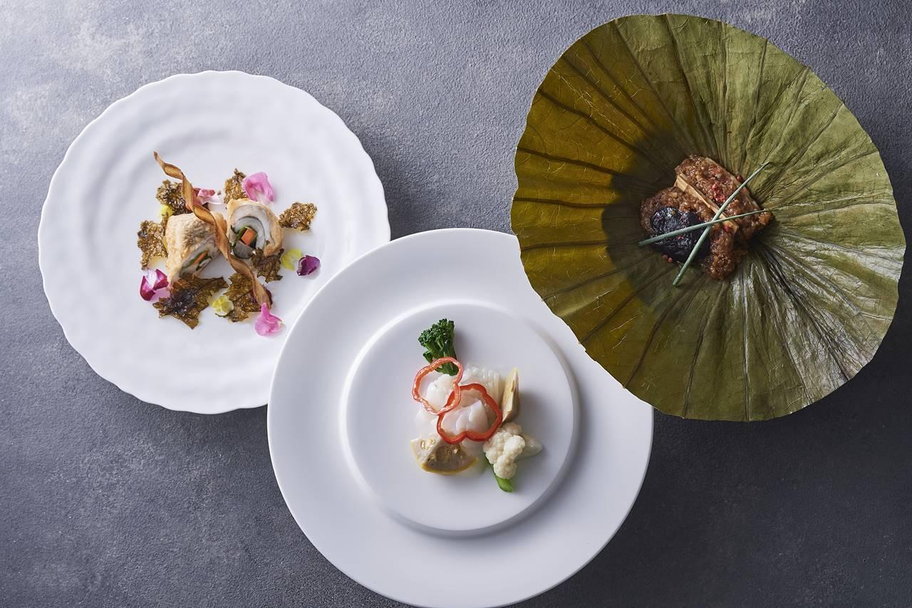 「ザ・キャピトルホテル 東急」中国料理「星ヶ岡」熊本県食材フェアコース