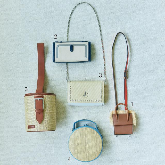 レザーとカジュアル素材のコンビが充実した新作バッグ