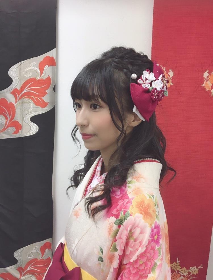 袴の前撮りしてきました♡_1_2