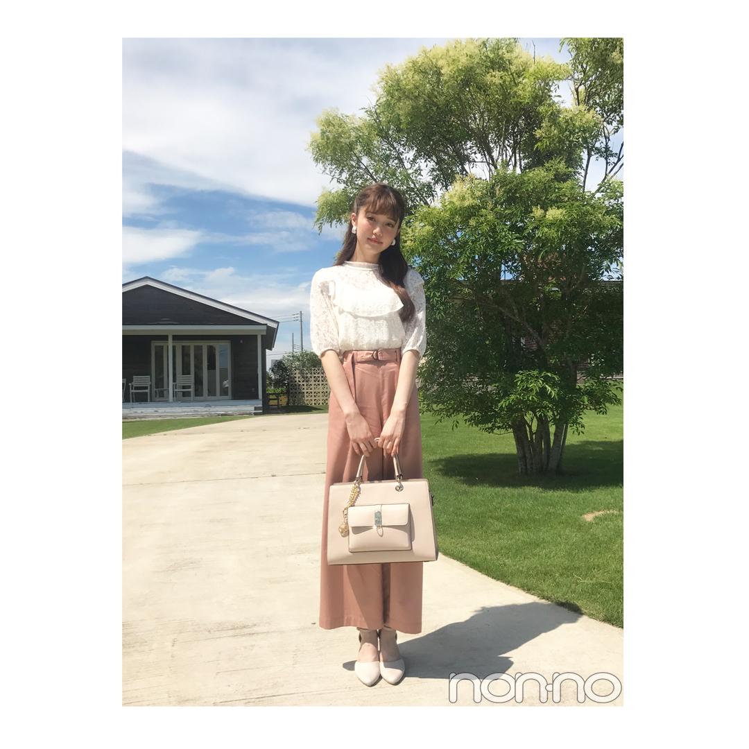 松川菜々花が着る1女の後期デビューにおすすめの清楚コーデ【毎日コーデ】_1_1