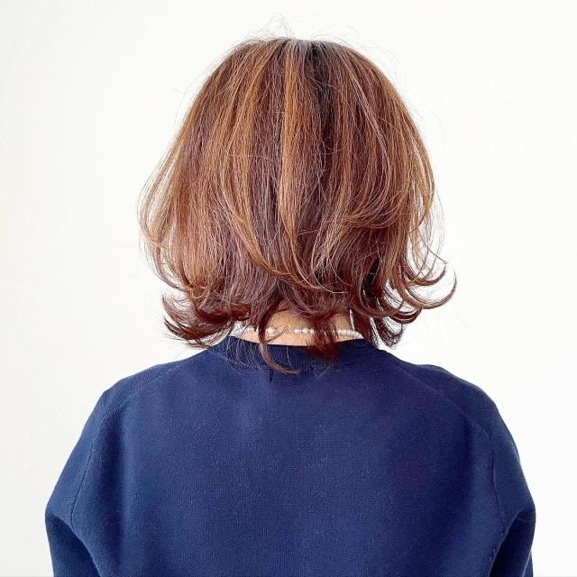 白髪隠しに最適!大人のハイライト【tomomiyuヘア】_1_5