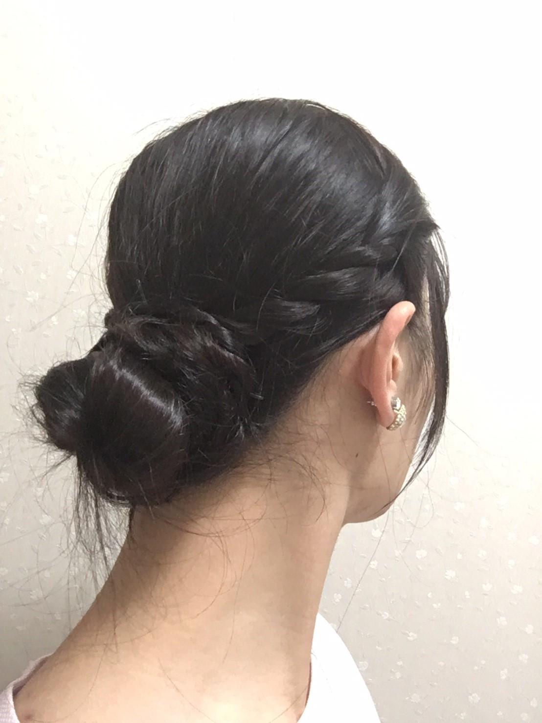 --自分でできる、洋服・和服に合うヘアアレンジ--_1_3-1
